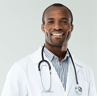 Master of Public Health, male doctor smiling